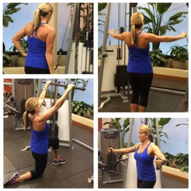 Total Body Workout using Cables