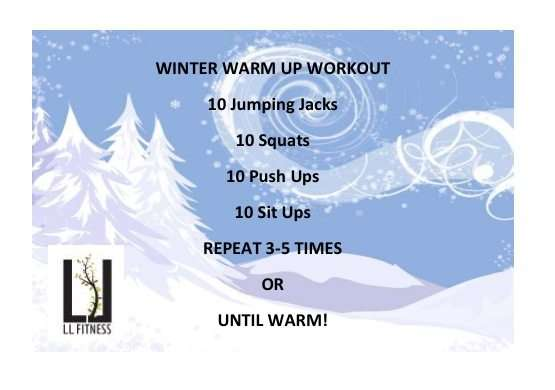 Winter Warm Up Workout