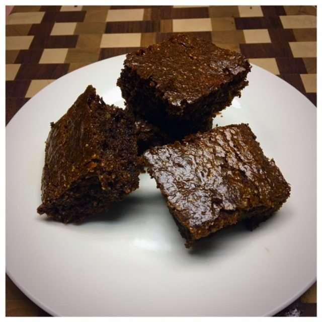 Cashew Flour  Brownies