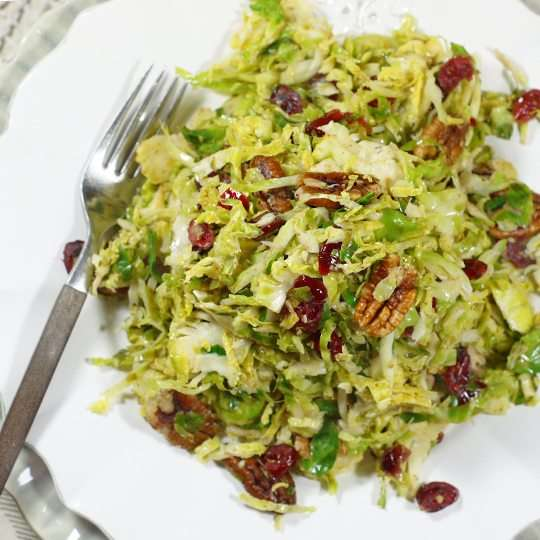 Sweet & Crunchy Brussels Sprouts